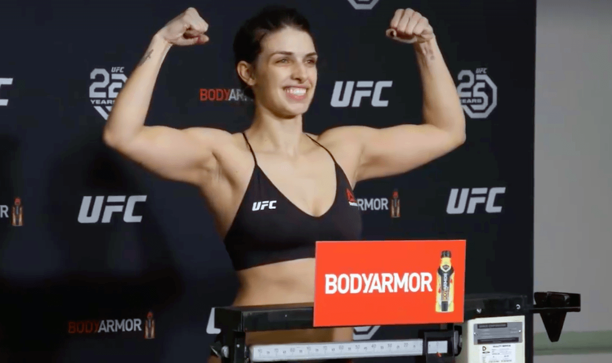 dern weigh in ufc 224